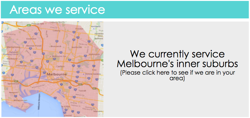 service area - motions mobile massage melbourne